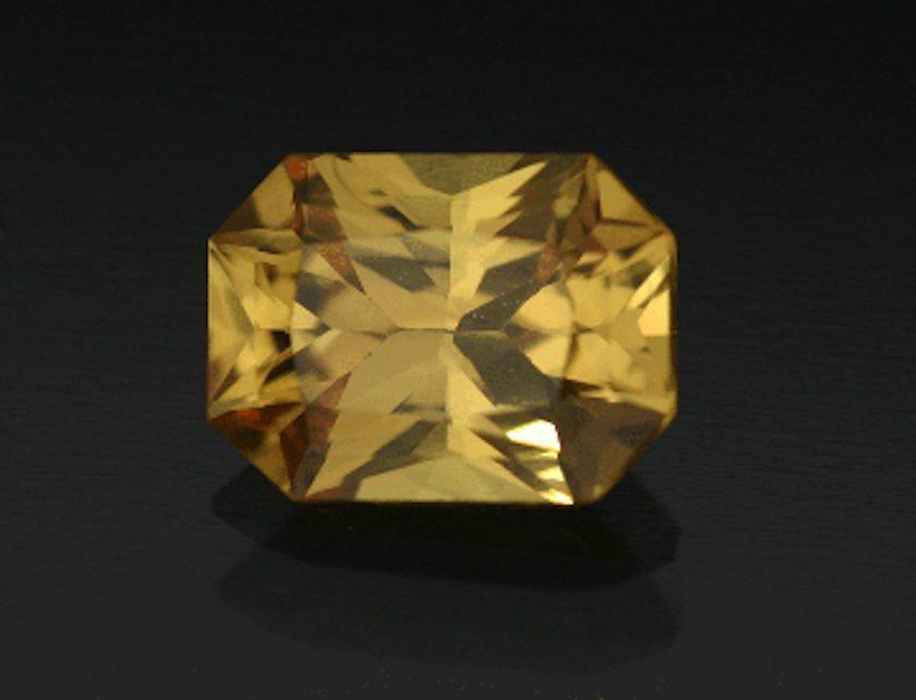 yellow sapphire - Thailand