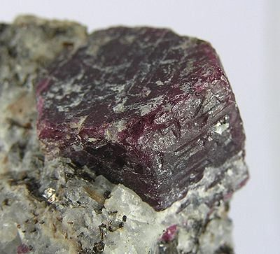opaque ruby crystals - Norway