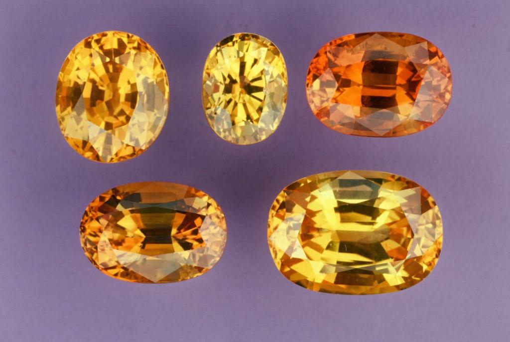 Geuda sapphires - Sri Lanka - ruby and sapphire origins