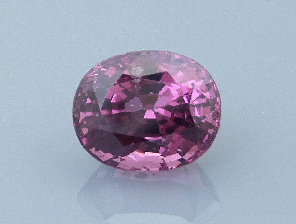 spinel 1 before - repaired and recut gems