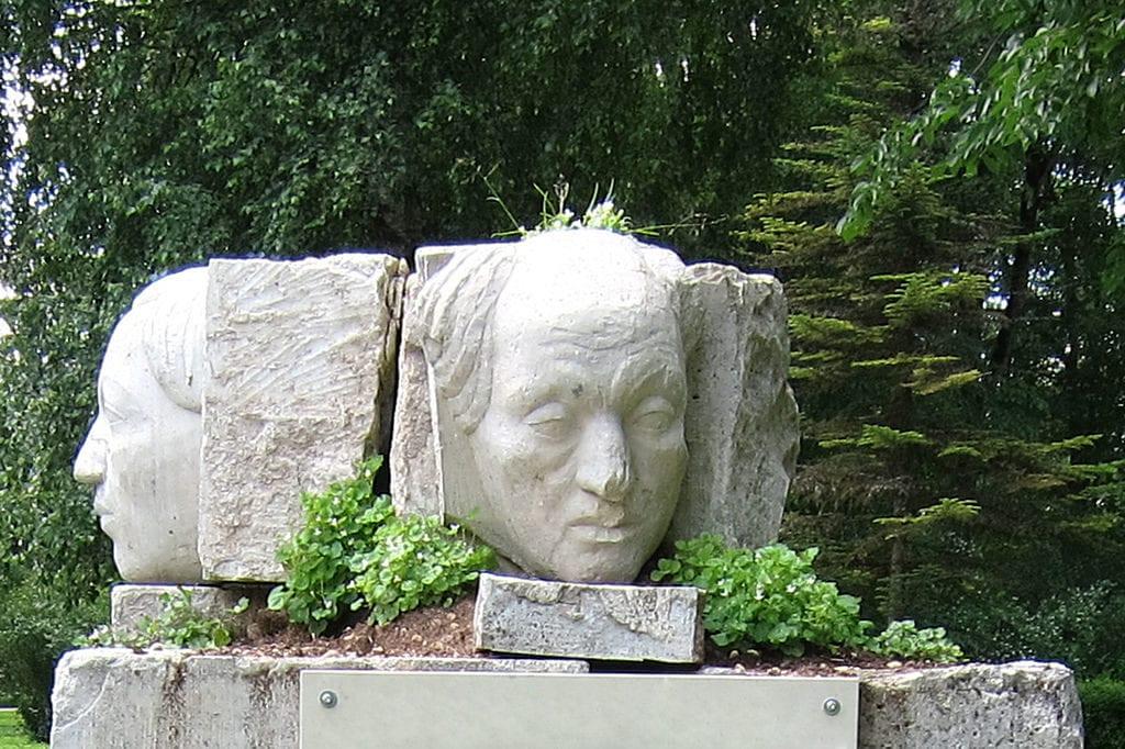 dolomite rock sculpture - Estonia