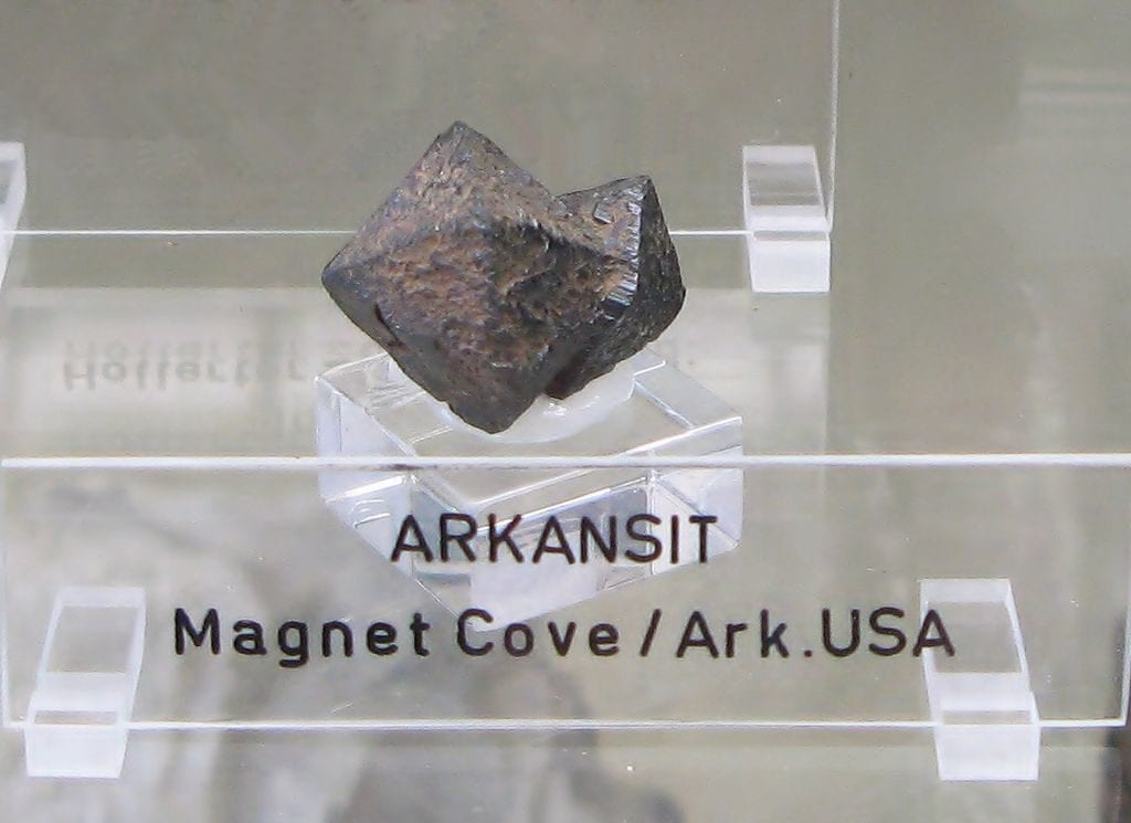 arkansite (brookite) crystal