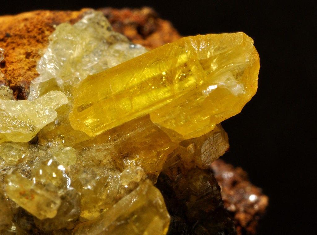 mimetite crystals - Thailand