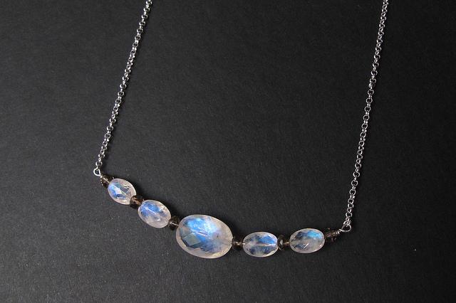 moonstone symbolism - ovals