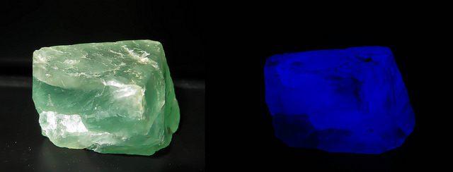 fluorescent green fluorite
