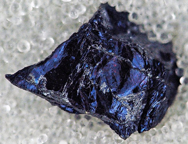 covellite - Butte, Montana