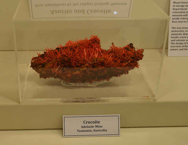 crocoite - display