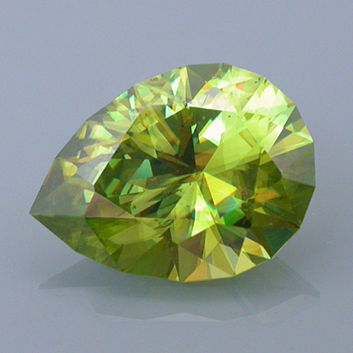 sphene 20 after - repaired and recut gems