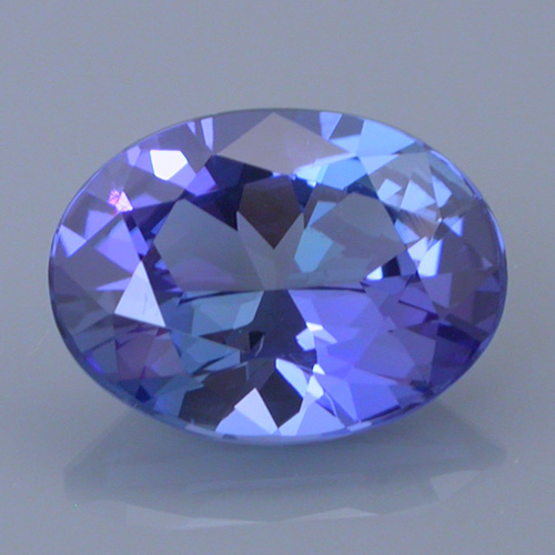 tanzanite 34 after - repaired and recut gems