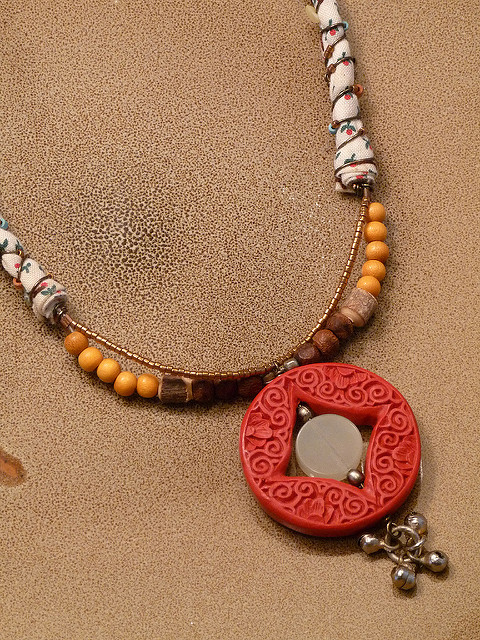 cinnabar - pendant
