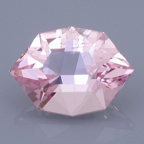 morganite 38 after - repaired and recut gems