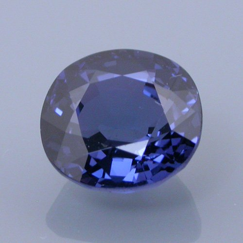 spinel 41 - before - repaired and recut gemstones