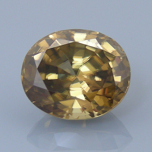 zircon 49 before - repaired and recut gems