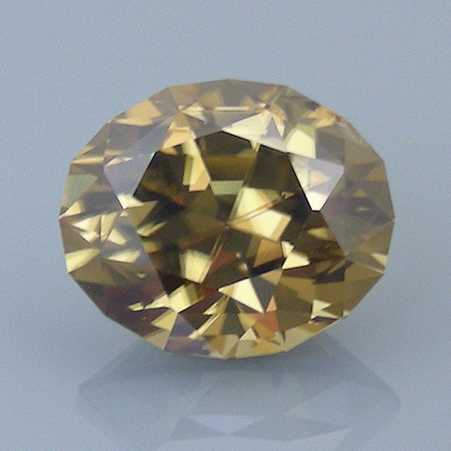 zircon 50 after - repaired and recut gems