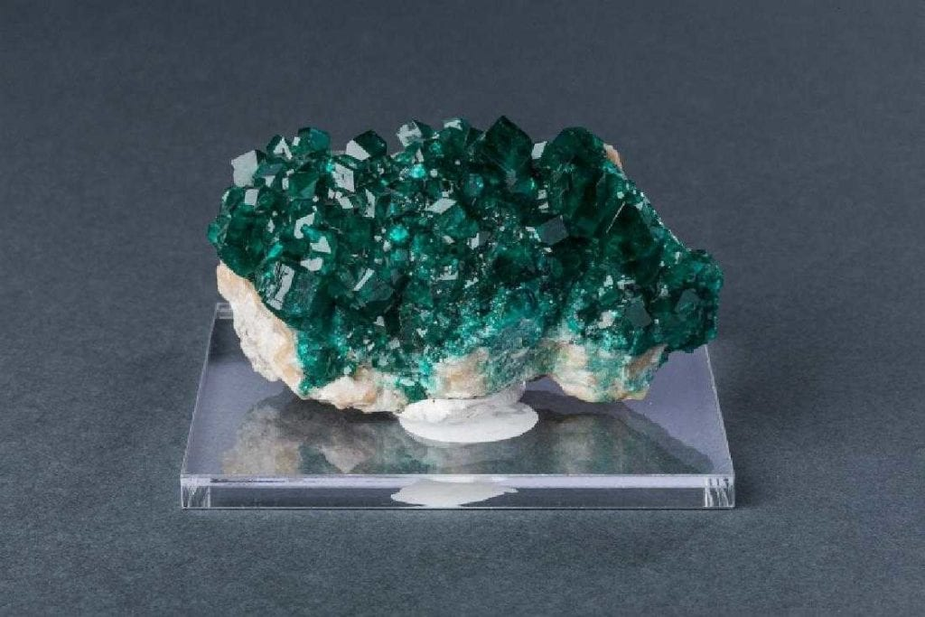 dioptase crystals - Democratic Republic of the Congo