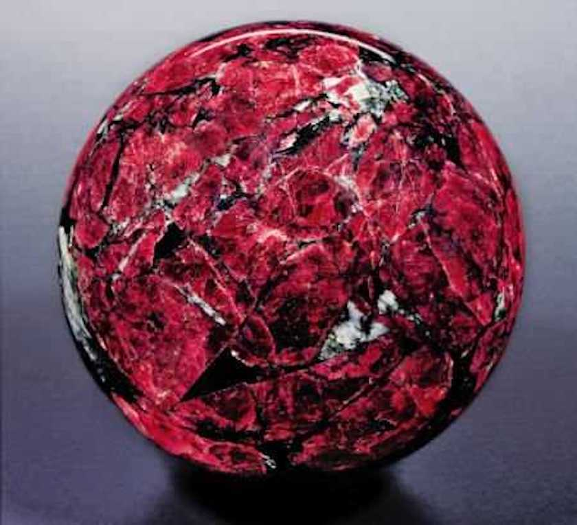 eudialyte sphere - Russia