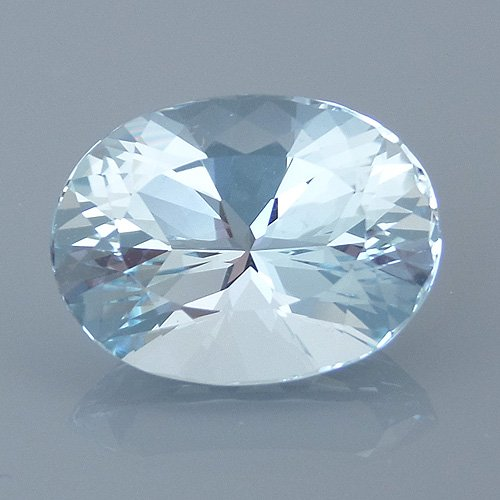 aquamarine 54 after - repaired and recut gems
