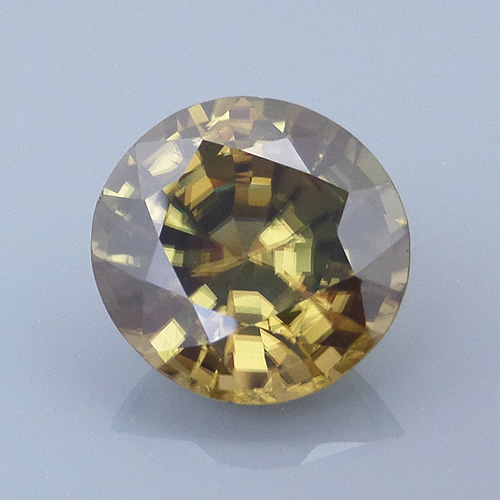 zircon 61 before - repaired and recut gems