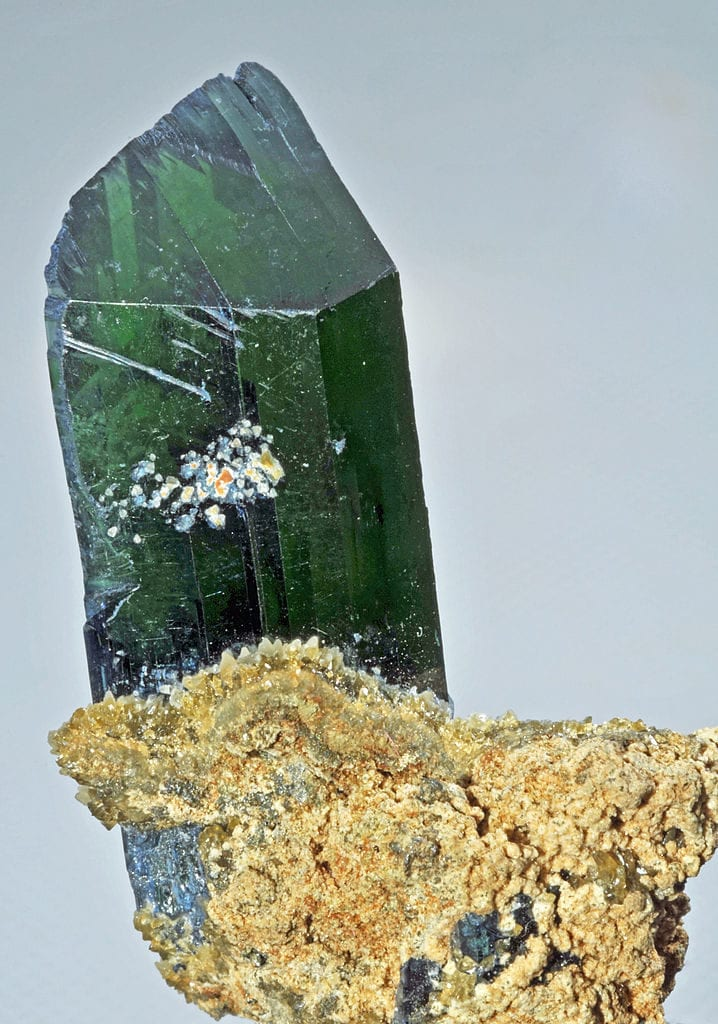 vivianite - Huanuni Mine