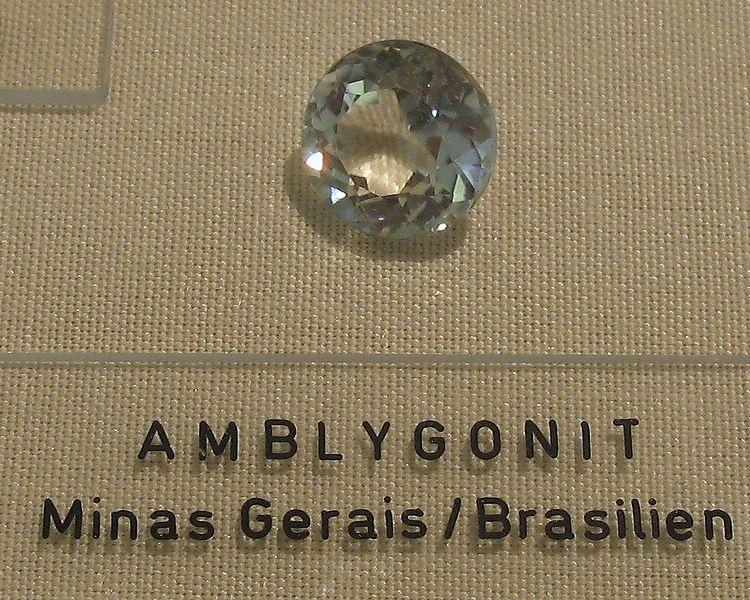 amblygonite - museum specimen