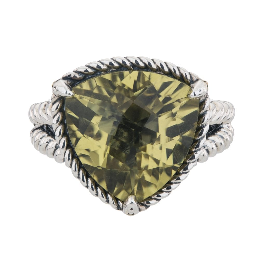 Ouro Verde Quartz Ring