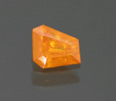 freeform step-cut mimetite - China