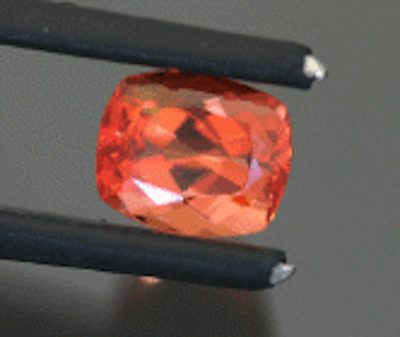 cushion-cut väyrynenite - Pakistan
