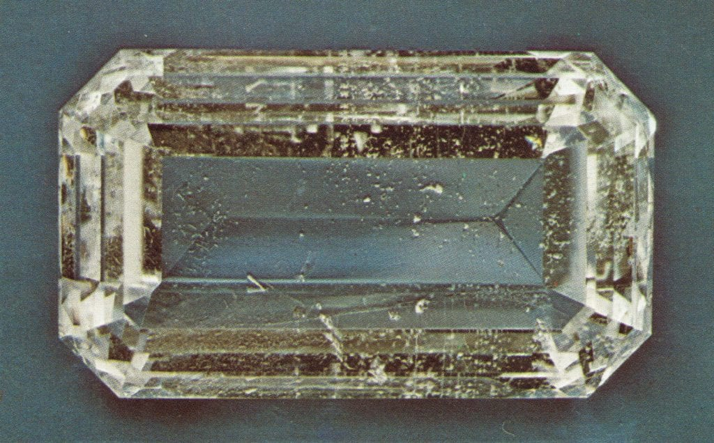 faceted beryllonite - Maine