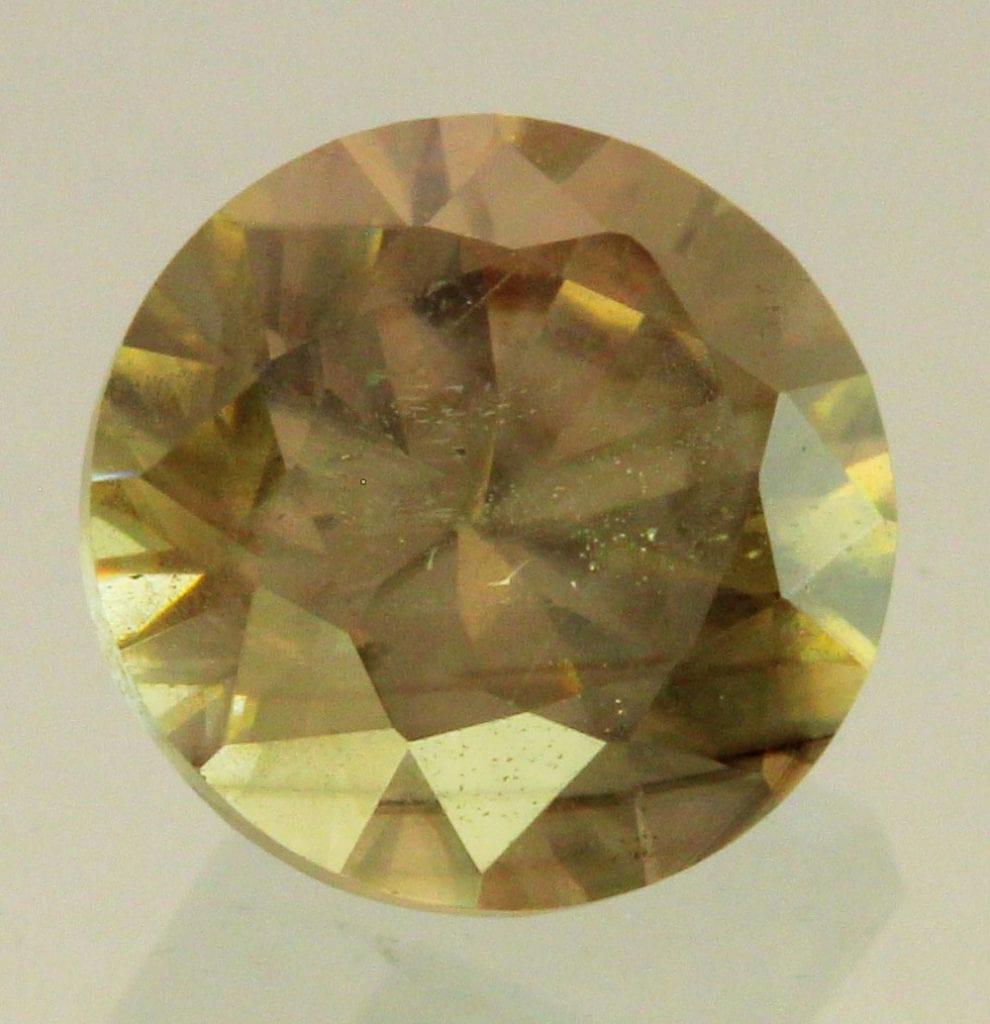 round-cut cassiterite - China