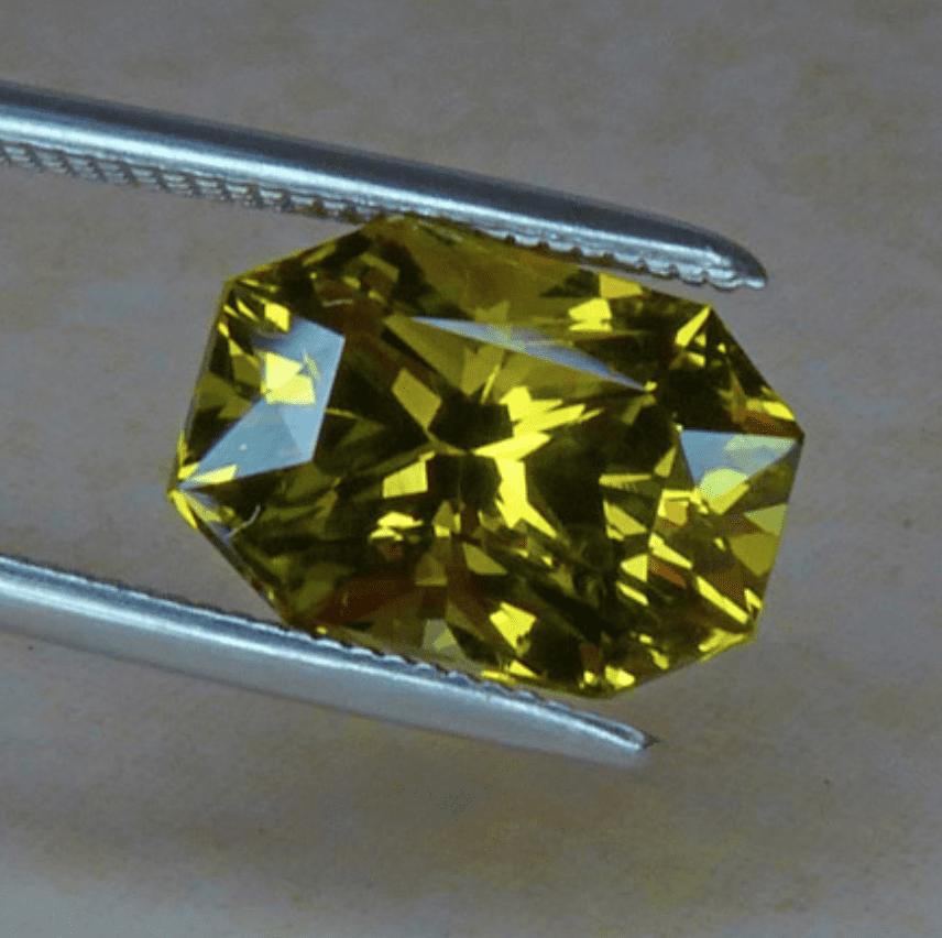Chrysoberyl - Radiant Cut