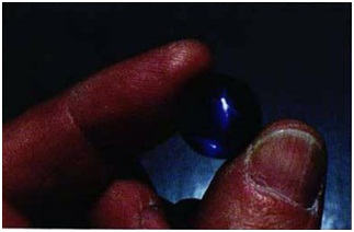 CORUNDUM: Sapphire-Star sapphire, Sri Lanka (31.87)