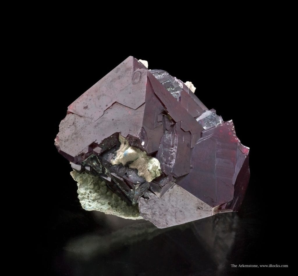 cuprite crystals - Democratic Republic of the Congo