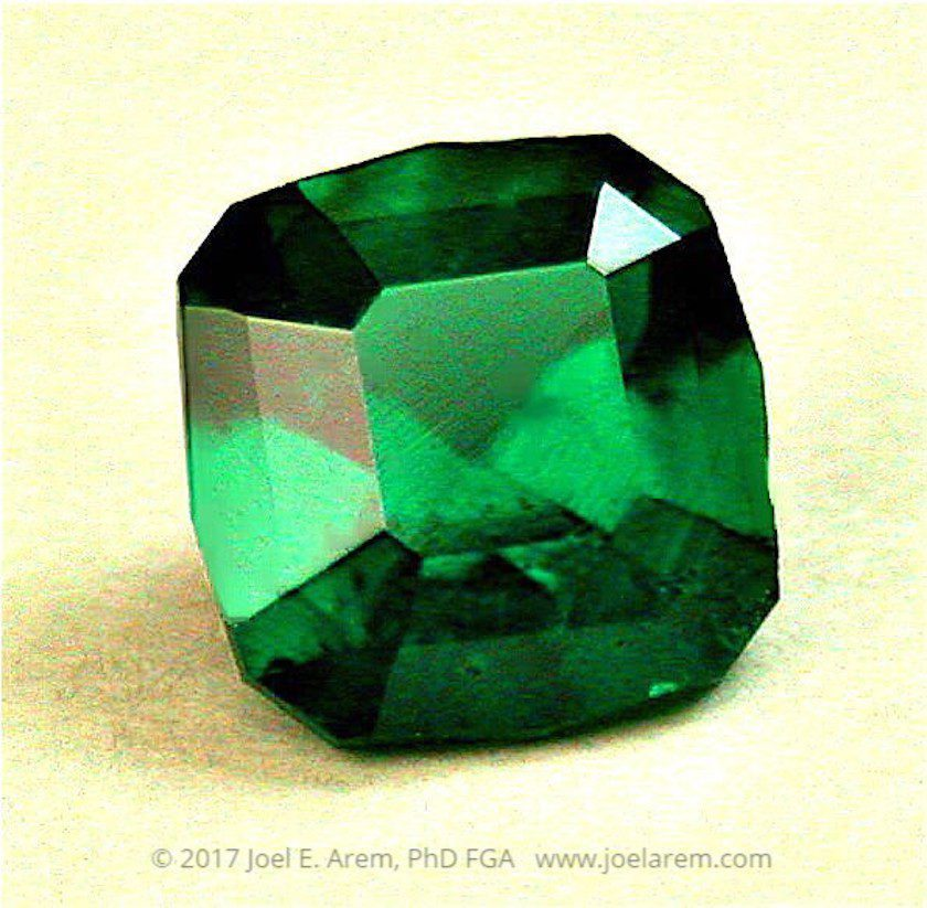 faceted dioptase