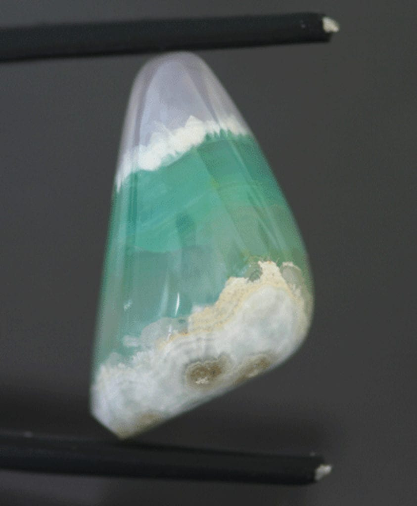 bi-color smithsonite cab - Mexico