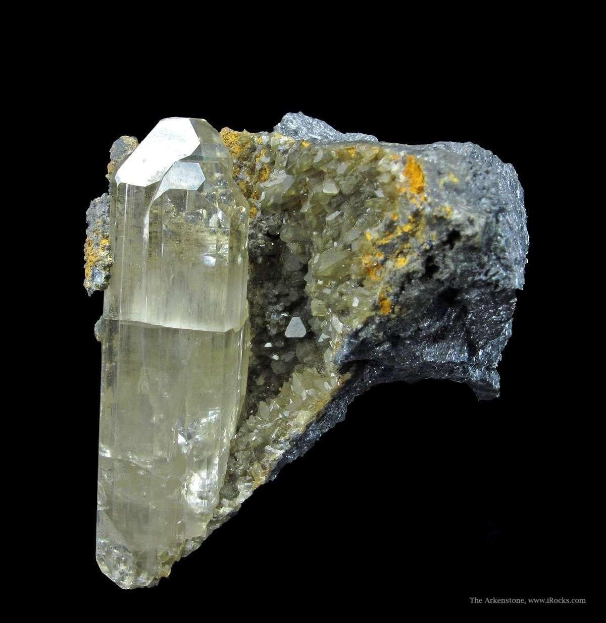 phosgenite and galena - normal light