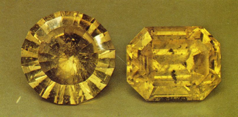 Faceted Anglesite - Tsumeb, Namibia