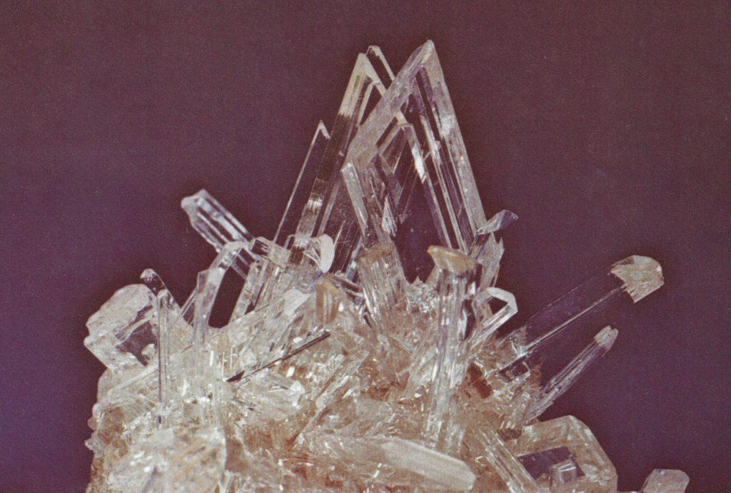 gypsum crystals - Mexico