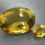 quartz color treatments - irradiated yellow quartz