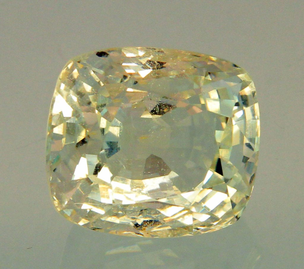 cushion-cut jeremejevite - Myanmar