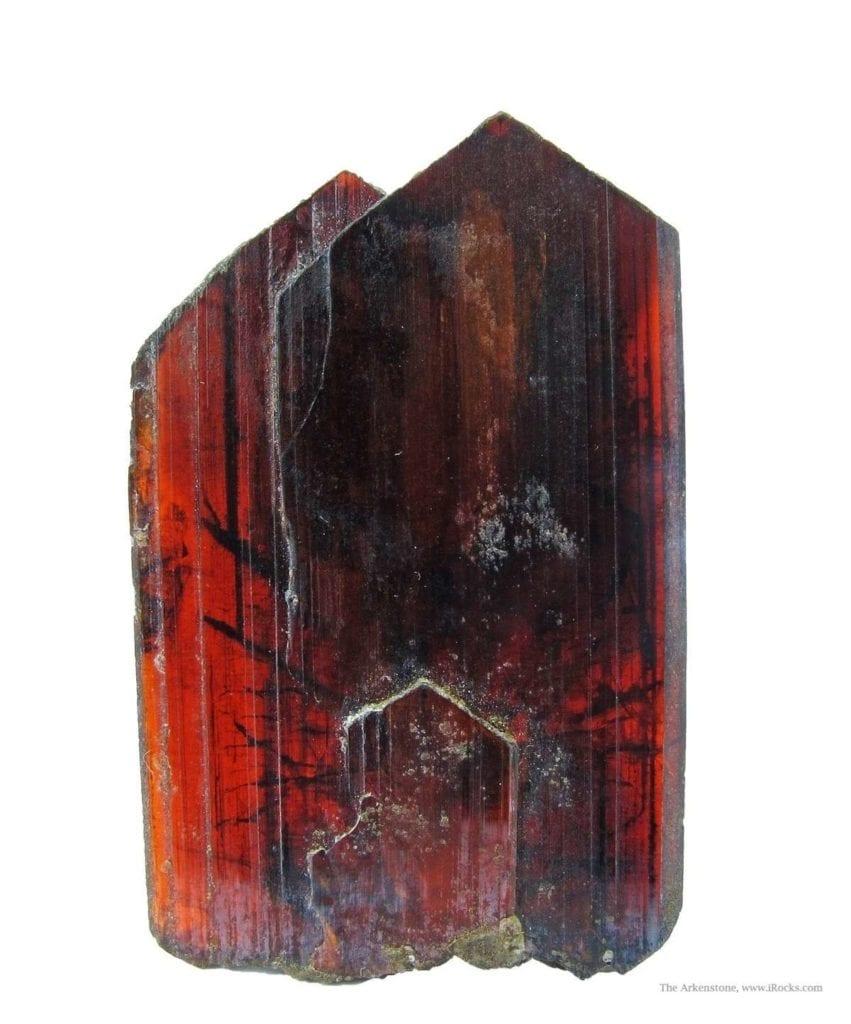 brookite blade crystals - Russia
