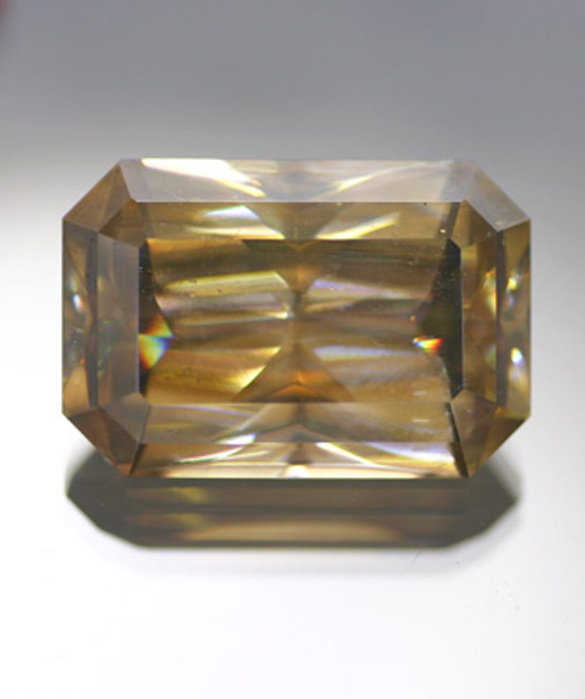 radiant-cut cerussite - Namibia