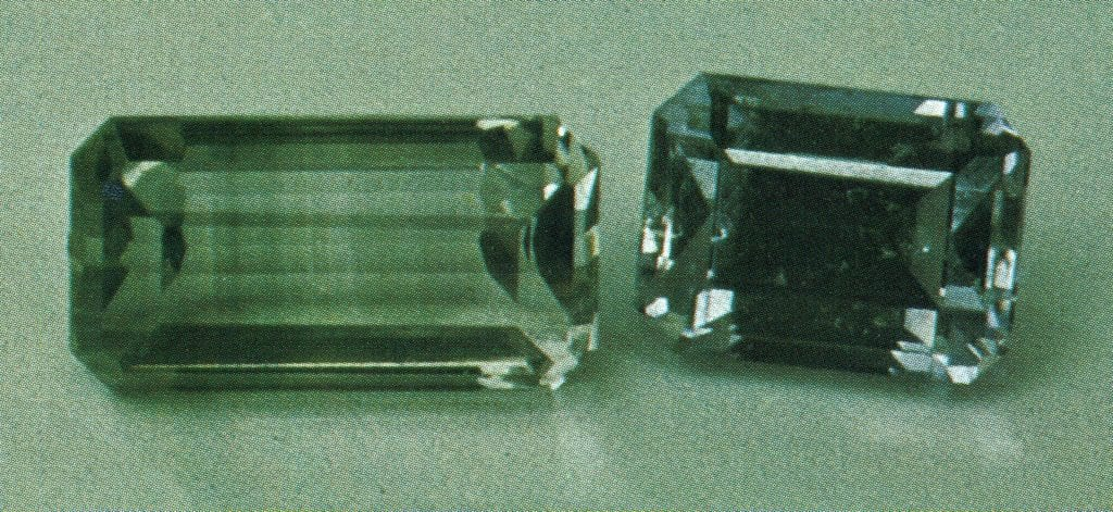 faceted jeremejevite - Russia
