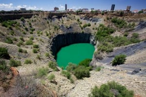Kimberly Diamond Mine, South Africa