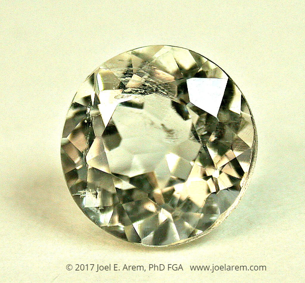 Faceted leucite, 2.15 cts - Italy