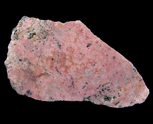 massive pyroxmangite slab - Colorado