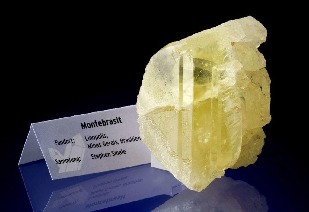 montebrasite - amblygonite/montebrasite series