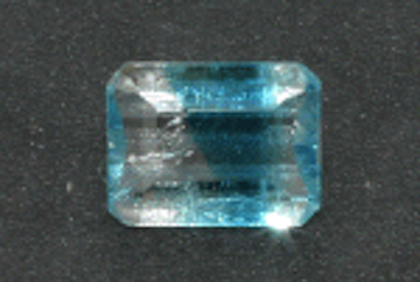 bi-color euclase - Brazil