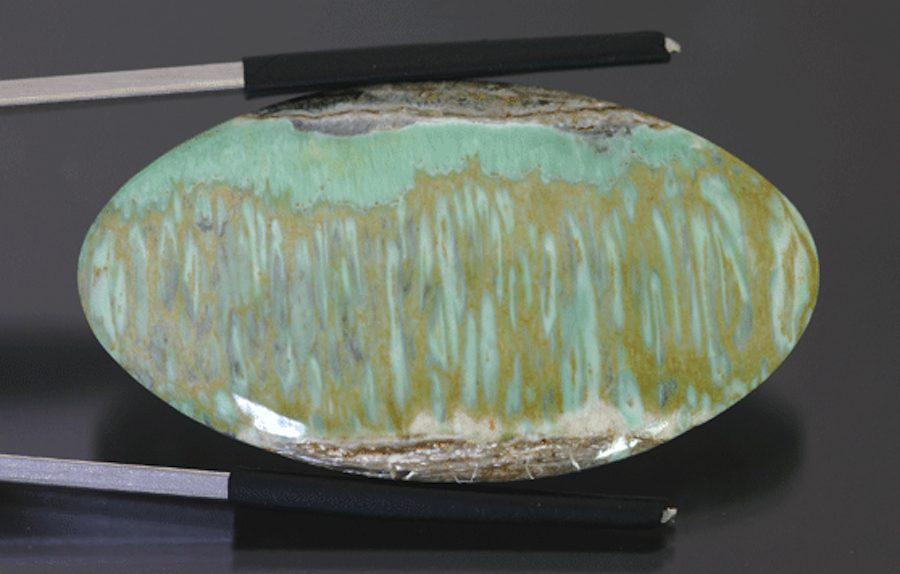 striated variscite - Utah