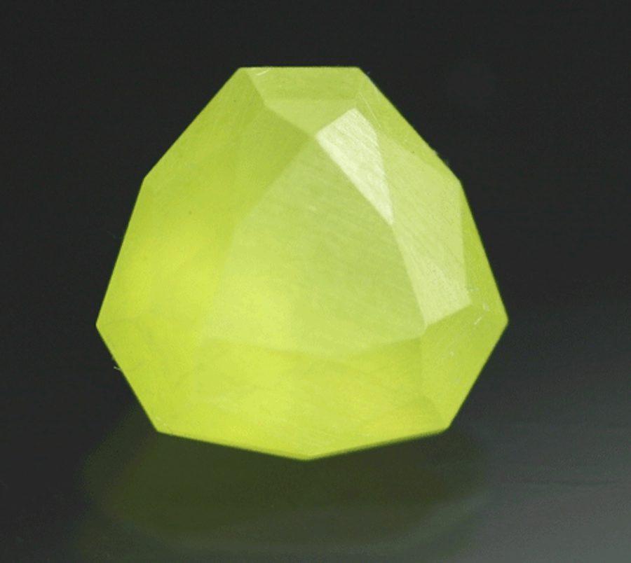 faceted sulfur - Michigan
