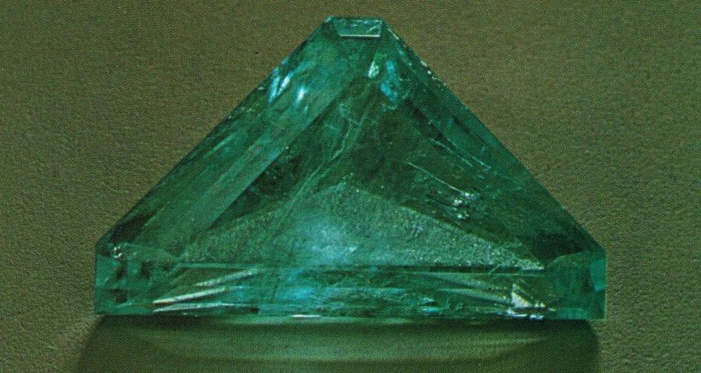 faceted phosphophyllite - Bolivia